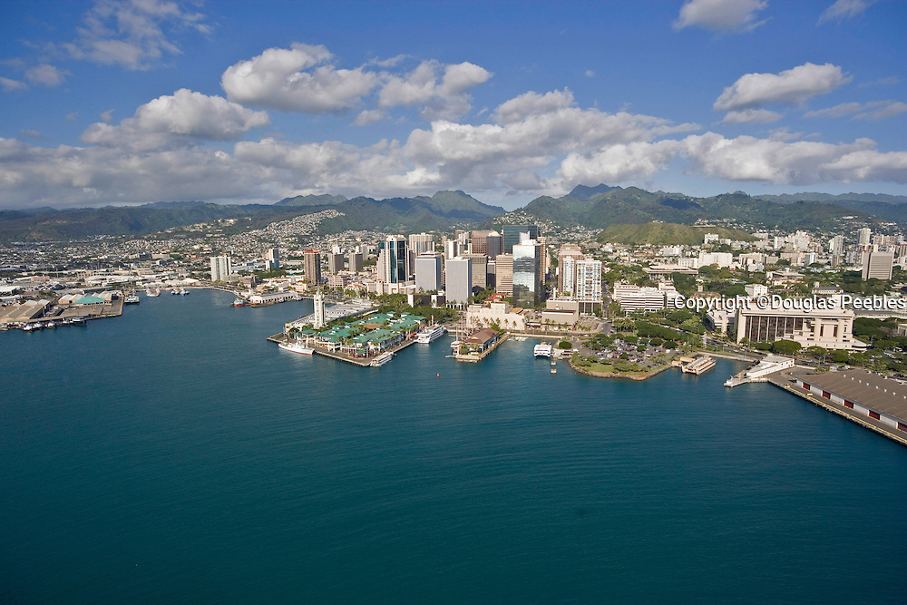Honolulu Harbor, Honolulu, Hawaii