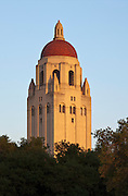 Hoover Tower on the Stanford University Campus in Palo Alto, CA.