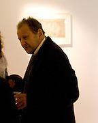 LUCIAN FREUD, Elaine Ferguson. ' Texas Blues'. Scream Gallery. Bruton St. London. 11 December 2008 *** Local Caption *** -DO NOT ARCHIVE -Copyright Photograph by Dafydd Jones. 248 Clapham Rd. London SW9 0PZ. Tel 0207 820 0771. www.dafjones.com<br /> LUCIAN FREUD, Elaine Ferguson. ' Texas Blues'. Scream Gallery. Bruton St. London. 11 December 2008