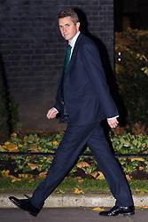 London, November 22 2017. Defence Secretary Gavin Williamson attends the UK cabinet meeting at Downing Street. © Paul Davey