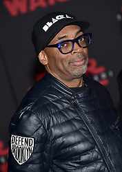 Spike Lee attends the world premiere of Disney Pictures and Lucasfilm's 'Star Wars: The Last Jedi' at The Shrine Auditorium on December 9, 2017 in Los Angeles, CA, USA. Photo by Lionel Hahn/ABACAPRESS.COM