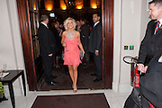 SHERIDAN SMITH, Savoy Theatre's Legally Blonde- The Musical,  Gala night. After-party at the Waldorf Hilton. London. 13 January 2010. *** Local Caption *** -DO NOT ARCHIVE-© Copyright Photograph by Dafydd Jones. 248 Clapham Rd. London SW9 0PZ. Tel 0207 820 0771. www.dafjones.com.<br /> SHERIDAN SMITH, Savoy Theatre's Legally Blonde- The Musical,  Gala night. After-party at the Waldorf Hilton. London. 13 January 2010.