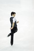 Takahiko Kozuka of Japan performs during the Men short program of the ISU World Figure Skating Championships 2015 in Shanghai, China, 27 March 2015.
