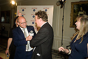TOBY YOUNG AND ORLANDO FRASER, The Spectator 180th Anniversary party, at the Churchill Hotel, London, 7 May 2008.  *** Local Caption *** -DO NOT ARCHIVE-© Copyright Photograph by Dafydd Jones. 248 Clapham Rd. London SW9 0PZ. Tel 0207 820 0771. www.dafjones.com.