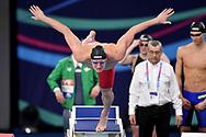 IRELAND IRL <br /> RYAN Shane  <br /> Mixed 4x50 Freestyle Relay <br /> Glasgow 07/12/2019<br /> XX LEN European Short Course Swimming Championships 2019<br /> Tollcross International Swimming Centre<br /> Photo Andrea Staccioli / Deepbluemedia / Insidefoto