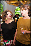 SUSIE PIGOTT; ANNA HANSEN, Veuve Clicquot World's Best Female chef champagne tea party. Halkin Hotel. Halkin St. London SW1. 28 April 2014.