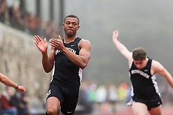mens 100 meters, Bowdoin, Maine State Outdoor Track & Field Championships