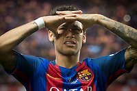 FC Barcelona's forward Neymar Santos Jr during Copa del Rey (King's Cup) Final between Deportivo Alaves and FC Barcelona at Vicente Calderon Stadium in Madrid, May 27, 2017. Spain.<br /> (ALTERPHOTOS/BorjaB.Hojas)