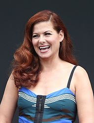 Debra Messing, At 'Will & Grace' Start Of Production Kick Off Event And Ribbon Cutting Ceremony At Universal City Plaza In California on August 02, 2017. 02 Aug 2017 Pictured: Debra Messing. Photo credit: FS/MPI/Capital Pictures / MEGA TheMegaAgency.com +1 888 505 6342