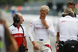 August 31, 2018 - Monza, Italy - Motorsports: FIA Formula One World Championship 2018, Grand Prix of Italy, .#9 Marcus Ericsson (SWE, Alfa Romeo Sauber F1 Team) (Credit Image: © Hoch Zwei via ZUMA Wire)