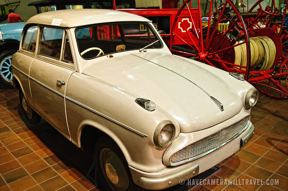 """The """"Lloyd Hartnett"""" car of 1957, an attempt by a local Brisbane resident to build a """"people's car""""."""