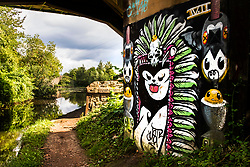 Sheffield & Tinsley Canal Graffiti under Attercliffe & Shirland Bridge 8<br /> <br /> 06 September 2020<br /> <br /> www.pauldaviddrabble.co.uk<br /> All Images Copyright Paul David Drabble - <br /> All rights Reserved - <br /> Moral Rights Asserted -