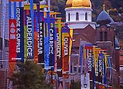 Pittsburgh, PA, Southside High School Sports Stadium, High School Flags