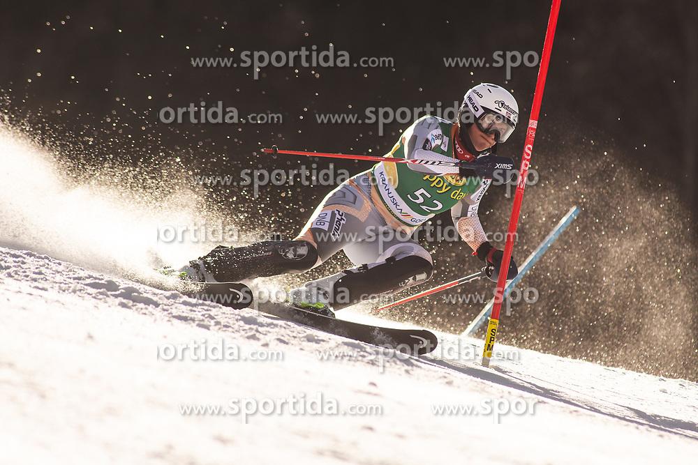 Maria Therese Tviberg (NOR) during the Ladies' Slalom at 56th Golden Fox event at Audi FIS Ski World Cup 2019/20, on February 16, 2020 in Podkoren, Kranjska Gora, Slovenia. Photo by Matic Ritonja / Sportida