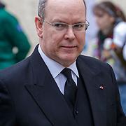 LUX/Luxemburg/20190504 -  Funeral<br /> of HRH Grand Duke Jean, Uitvaart Groothertog Jean, Prins Albert II van Monaco