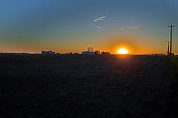 18 October 2017:   the sunsets at Randolph Illinois