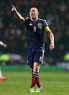 Scotland's Scott Brown in action<br /> <br /> - International Friendly - Scotland vs England- Celtic Park - Glasgow - Scotland - 18th November 2014  - Picture David Klein/Sportimage