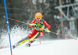 COSTAZZA Chiara (ITA) competes during the 1st Run of 7th Ladies' Slalom at 51st Golden Fox of Audi FIS Ski World Cup 2014/15, on February 22, 2015 in Pohorje, Maribor, Slovenia. Photo by Vid Ponikvar / Sportida