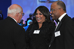 Kurt Schmoke, Patricia Schmoke and Carm Cozza. Yale University Department of Athletics Blue Leadership Ball 2009. Formal Dinner at the Lanman Center, Presentation of Awards to Blue Leader Honorees and Speaches.
