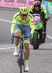 22.05.2016, Kastelruth nach Seiseralm, ITA, Giro d Italia 2016, 15. Etappe, im Bild Rafal Majka (POL, Team Tinkoff) // during 15th Stage, from Castelrotto to Alpe di Siusi of the Giro d Italia at. in Kastelruth nach Seiseralm, Italy on 2016/05/22. EXPA Pictures © 2016, PhotoCredit: EXPA/ Reinhard Eisenbauer
