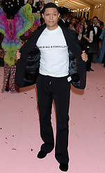 The 2019 Met Gala Celebrating Camp: Notes on Fashion - Arrivals. 06 May 2019 Pictured: Trevor Noah. Photo credit: MEGA TheMegaAgency.com +1 888 505 6342