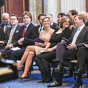 NLD/Amsterdam/20151125 - Koning Willem Alexander reikt Erasmusprijs 2015 uit, Prins Constantijn, Koningin Maxima , Lodewijk Gelauff, Phoebe Ayers  en koning Willem-Alexander