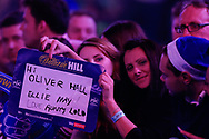 Fans, crowd, during the World Championship Darts 2018 at Alexandra Palace, London, United Kingdom on 17 December 2018.