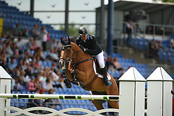 Gulliksen Geir, (NOR), Edesa S Banjan<br /> Team Competition round 1 and Individual Competition round 1<br /> FEI European Championships - Aachen 2015<br /> © Hippo Foto - Stefan Lafrentz<br /> 19/08/15