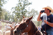 2013 National Chuckwagon Races in Clinton, Arkansas.
