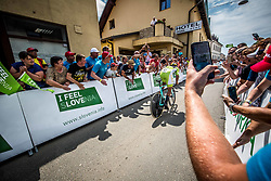 Primoz Roglic of Team Lotto NL Jumbo competes during 5th Time Trial Stage of 25th Tour de Slovenie 2018 cycling race between Trebnje and Novo mesto (25,5 km), on June 17, 2018 in  Slovenia. Photo by Vid Ponikvar / Sportida
