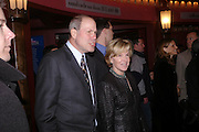 Michael  and  Jane Eisner, Mary Poppins Gala charity night  in aid of Over the Wall. Prince Edward Theatre. 14 December 2004. ONE TIME USE ONLY - DO NOT ARCHIVE  © Copyright Photograph by Dafydd Jones 66 Stockwell Park Rd. London SW9 0DA Tel 020 7733 0108 www.dafjones.com