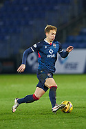 Harry Paton of Ross County during the Scottish Premiership match between Ross County FC and St Johnstone FC at the Global Energy Stadium, Dingwall, Scotland on 2 January 2021