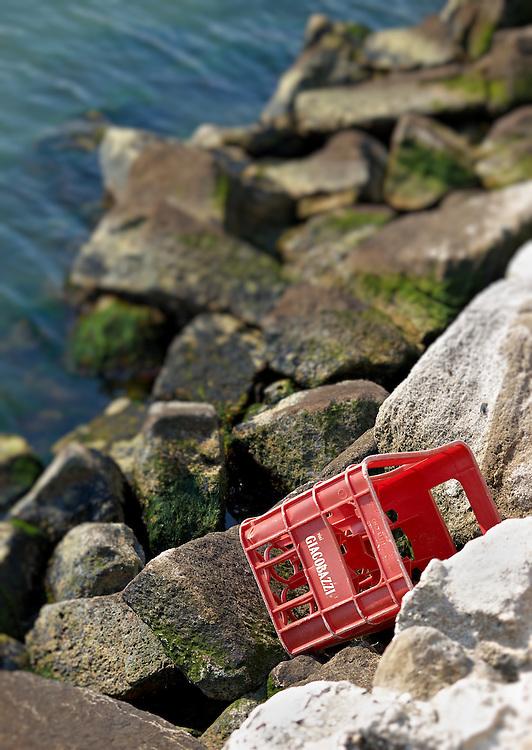 Italy - Porto Levante - Bottle crate