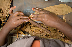 Fabricacao de charutos em Salvador, Bahia / Cigar factoring in Salvador, Bahia, Brazil