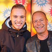 NLD/Amsterdam20151111 - Premiere Priscilla, Queen of the Desert, Ron Boszhard en zoon Niels
