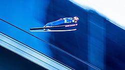 31.12.2016, Olympiaschanze, Garmisch Partenkirchen, GER, FIS Weltcup Ski Sprung, Vierschanzentournee, Garmisch Partenkirchen, Qualifikation, im Bild Sevoie Vincent Descombes (FRA) // Sevoie Vincent Descombes of France during his Qualification Jump for the Four Hills Tournament of FIS Ski Jumping World Cup at the Olympiaschanze in Garmisch Partenkirchen, Germany on 2016/12/31. EXPA Pictures © 2016, PhotoCredit: EXPA/ JFK