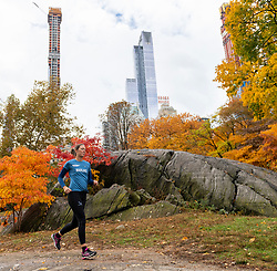 03-11-2018 USA: NYC Marathon We Run 2 Change Diabetes day 2, New York<br /> day before the marathon the usual photo shoot in Central Park / Marijke