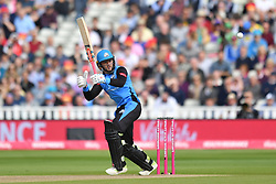 Worcestershire Rapid's Joe Clarke bats during the Vitality T20 Blast Semi Final match on Finals Day at Edgbaston, Birmingham.