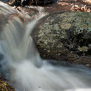 Small brook, full with spring runoff, Harold Parker State Forest, Andover, MA