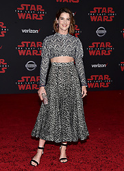 Cobie Smulders attends the world premiere of Disney Pictures and Lucasfilm's 'Star Wars: The Last Jedi' at The Shrine Auditorium on December 9, 2017 in Los Angeles, CA, USA. Photo by Lionel Hahn/ABACAPRESS.COM