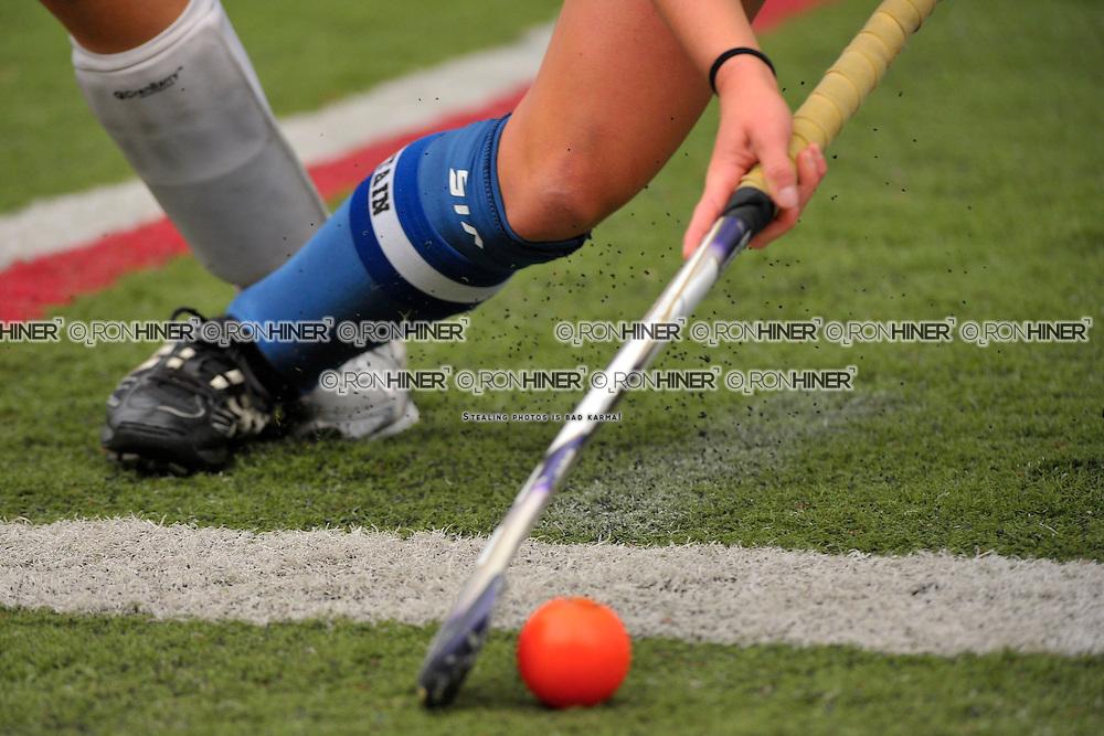 Staples High School Field Hockey..Wilton defeats Staples 3-2..Callie Hiner (SR)(C)