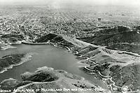 1937 Lake Hollywood and Dam