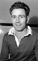 Fotball<br /> England<br /> Foto: Colorsport/Digitalsport<br /> NORWAY ONLY<br /> <br /> Chelsea historikk<br /> Derek Saunders - Chelsea. 1953-58
