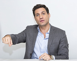 December 5, 2016 - Hollywood, California, U.S. - EDGAR RAMIREZ promotes movie 'Gold.' Edgar Filiberto Ramirez Arellano (born March 25, 1977) is a Venezuelan actor and former journalist. He played Carlos in the 2010 French-German biopic series Carlos, a role for which he won the Cesar Award for Most Promising Actor at the César Awards 2011, and was nominated for a Golden Globe and Emmy Award. He also played Larry, a CIA operative in Pakistan, in the film Zero Dark Thirty, Paz, a CIA assassin, in The Bourne Ultimatum and Roberto Duran, a four time world champion boxer and member of the International Boxing Hall of Fame, in Hands of Stone. Ramirez won at the 2012 ALMA Awards for Ares in Wrath of the Titans. Upcoming: Untitled De Niro Jakubowicz Project (2017), Bright (2017), Gold (2016). (Credit Image: © Armando Gallo via ZUMA Studio)