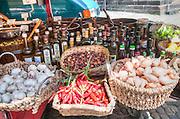 European street market