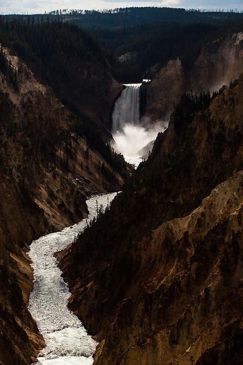 Lower Falls, Yellowstone National Park, Wyoming, United States
