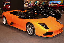 08 February 2007: Lamborghini Murcielago LP640 roadster. The Chicago Auto Show is a charity event of the Chicago Automobile Trade Association (CATA) and is held annually at McCormick Place in Chicago Illinois.