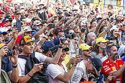 June 23, 2018 - Le Castellet, France - Motorsports: FIA Formula One World Championship 2018, Grand Prix of France, .Fans  (Credit Image: © Hoch Zwei via ZUMA Wire)