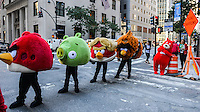 """The Charmin Bears strut their stuff in the """"Walk of the Great Icons""""  in horor  of Advertising Week's 10th Anniversary Walk of Fame. / Russ DeSantis / AP Images for Charmin"""