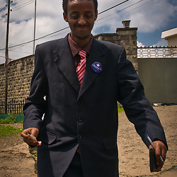 During the 2008 election Obama fans could be found as far away as Ethiopia.